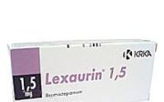 Zajak dlouho účinkuje Lexaurin